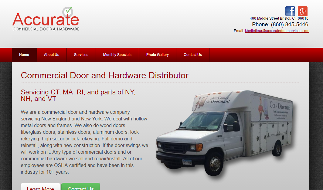 Accurate Commercial Door & Hardware, LLC