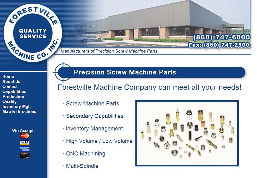 Forestville Machine Co., Inc.