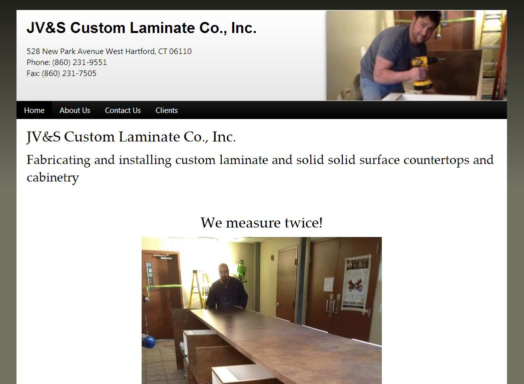 JV&S Custom Laminate Co., Inc.
