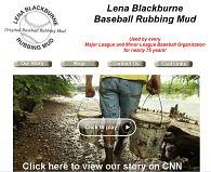 Lena Blackburne Baseball Rubbing Mud
