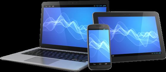 Web design for desktop, mobile phones, and tablets